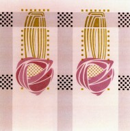 Rose Motif Fabric
