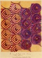 Design for Chiffon Voile Showing 2 Color Schemes
