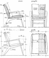 Model 431 Armchair