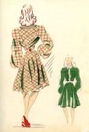 Robes et Ensembles Croquis Couture