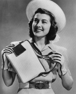 Accessory Set of Bag, Gloves, and Belt