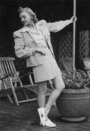 Woman Dressed in Leisure Wear