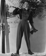 Actress in a Ski Ensemble