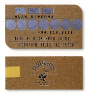 Business Card for Alan Di Perna at Chickenscratch