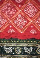 Bandhani Wedding Sari