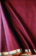 Maheshwar Plain Color Cotton Sari
