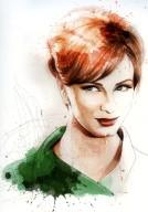 Mad Women, Portrait of Christina Hendricks