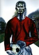Working Class Boy to Man U, Portrait of David Beckham