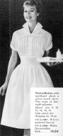 Uniform with Pleated Bodice