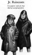 Commando and Artificial Leather Raincoats