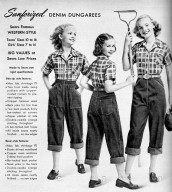 Sears Famous Western-Style Dungarees