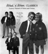 Wash 'n' Wear Classics: Luxury Flannel of Orlon and Cotton