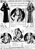 Fur Coats and Scarves