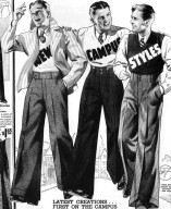 Men's Wide-Leg Trousers