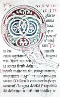 Leaf from Claricia Psalter