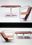 Flexible Chair and Table
