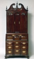 Chippendale Desk and Bookcase