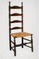 William and Mary Slat-Back Side Chair