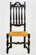 William and Mary Banister-Back Side Chair