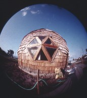 All Wood Dome Designed Built