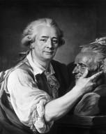 Pajou, Sculpting the Bust of M. Lemoine