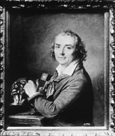 Houdon Sculpting the Bust of Voltaire