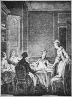 Copper Engraving for J. J. Rousseau's Oeuvres