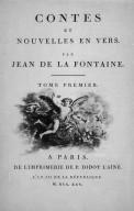 Contes et Nouvelles en Vers by Jean de la Fontaine