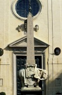 Elephant Bearing an Obelisk