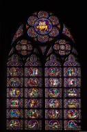 Notre Dame de Paris: Stained Glass