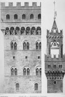 Palast-Architecktur von Ober-Italien und Toscana