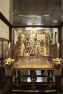 Golden Throne of Tutankhamen