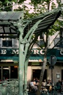 Paris Metro Shelter Type B; Abbesses Station