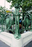 Paris Metro Shelter (Entrance) Type A; Colonel Fabien Station
