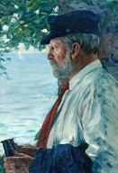 W. W. Gilchrist, Sr. [informal portrait]