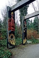 Coast Salish Houseposts