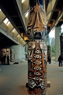 Totem Poles, Museum of Anthropology at the University of British Columbia