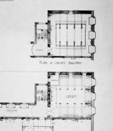 Howarth Collection: Glasgow School of Art Plans and Historic Photographs