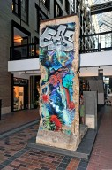 Berlin Wall Fragment with Graffiti