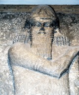 Colossal winged bull from the Palace of Sargon II