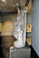 Colossal marble statue of Apollo