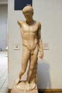 Marble Statue of Victorious Athlete