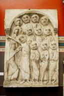 Incredulity of Saint Thomas Relief from Santo Domingo de Silos [plaster cast]