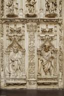 Cathedral of Saint Sauveur West Portal [plaster cast]