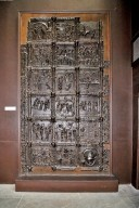 Left door from Saint Zeno, Verona [plaster cast]