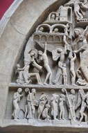West Tympanum of Saint-Lazare, Autun Cathedral [plaster cast]