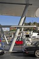United Oil Company Gas Station, Slauson and La Brea