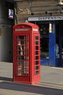 Traditional Red Telephone Booth (UK)