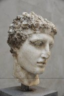 Marble Head of an Athlete