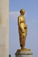 Palais de Chaillot: Place des Droits de l'Homme